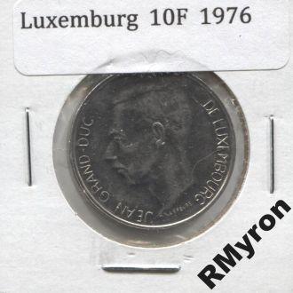 Люксембург (1976) - 10 франков - СОСТОЯНИЕ!!!
