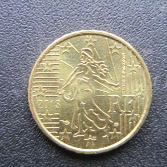 10 евроцентов Франция 2013