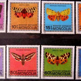 фауна бабочки монголия