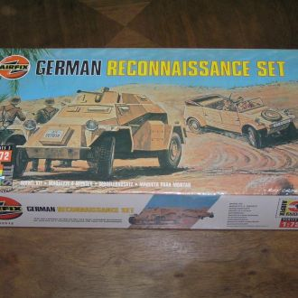Airfix German Reconnaissance Set 1:72