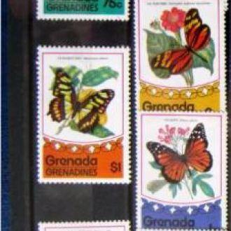 насекомые бабочки гренада гренадины