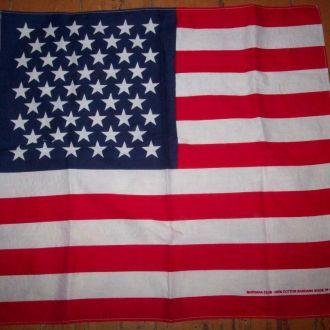 Бандана - флаг США 50х55 см