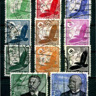 Немецкая империя 1934 Цеппелин Мі 529-539 95 евро