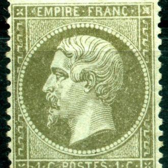 Франция 1853-1861 Кайзер Наполеон Мі:10а 220 евро