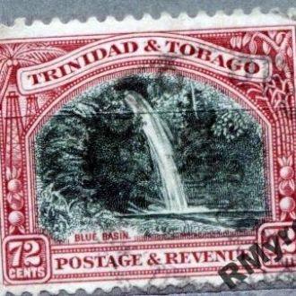 Англия. Тринидад и Тобаго (1935) - Голубой водопад
