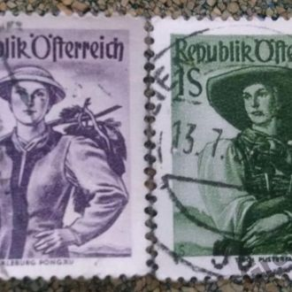 марки Австрия стаыіе 2ш