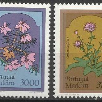 Мадейра португ. 1983 флора цветы 4м.**