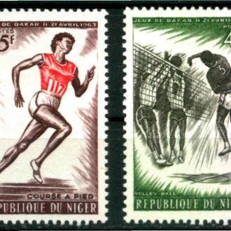Нигер 1963 Спорт Мі: 32-33 2,0 евро