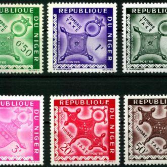 Нигер 1962 Архитектура доплата Мі: Р1-Р4 1,6 евро