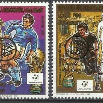Мадагаскар 1993 футбол чемпионат мира надп. 4м.**