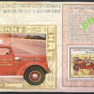 Конго 2006 пожарные машины Проспект Форд 1920 тран