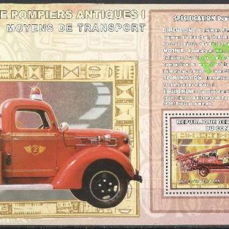 Конго 2006 пожарные машины Денис тип N 1921 трансп