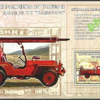 Конго 2006 пожарные машины Бикль Сигрейв Форд 1939