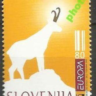 Словения 1997 Европа СЕПТ фауна 1м.**