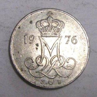 Дания  10 эрэ 1976  г
