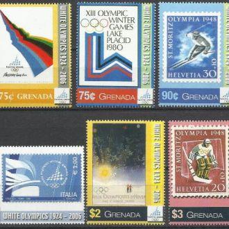 Гренада 2006 история зимних олимпиад хоккей 6м.**