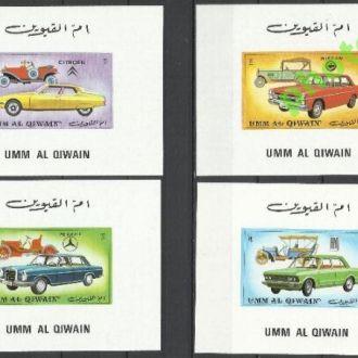 Умм-эль-Кайвайн 1972 транспорт автомобили 6люкс-бл