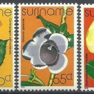 Суринам 1978 флора орхидеи 5м.**