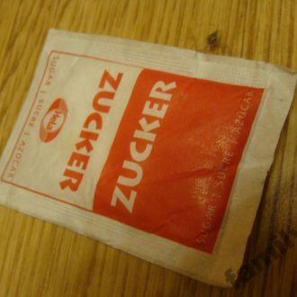 Пакетик с сахаром № 262 Германия