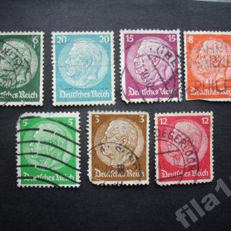 7 марок Германия 1932