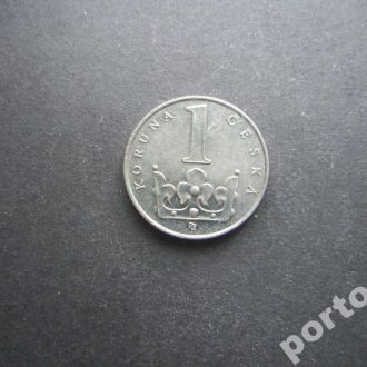 1 крона Чехия 1994