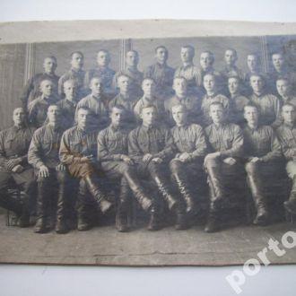 довоенное фото солдаты и командиры (Взвод?)