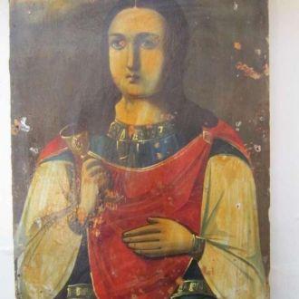 Икона Святая Варвара Великомученица