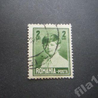 марка Румыния 1928 стандарт 2 леи