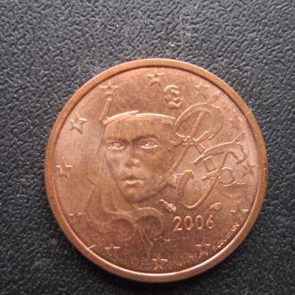 2 евроцента Франция 2006