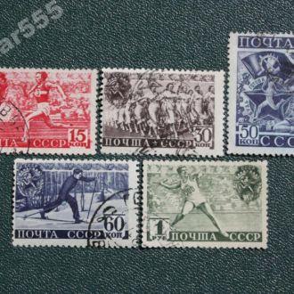СССР 1940 ГТO. Все гребёнки.Полная серия.