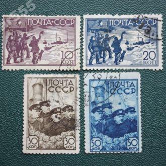 СССР 1938 Северный полюс-1.Серия . Гашен.