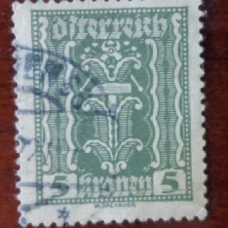 АВСТРИЯ,1922г.,М№365