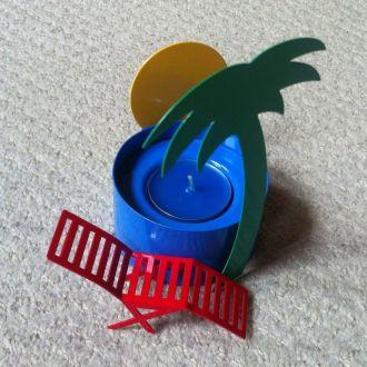 Сувенирный набор AVON подсвечник со свечкой