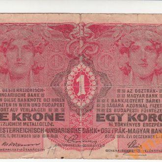 АВСТРО-ВЕНГРИЯ 1 корона 1916 год