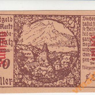 Австрия Нотгельд Roffas 50 геллеров 1920 год UNC