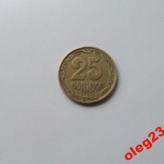 Монета 25 коп Украина