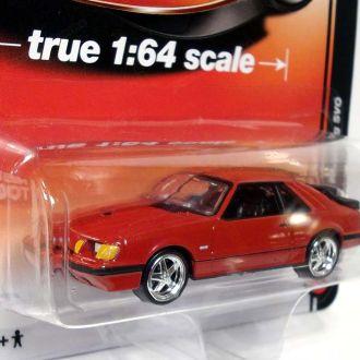 1/64 1984 Ford Mustang SVO ( ERTL / Auto World )