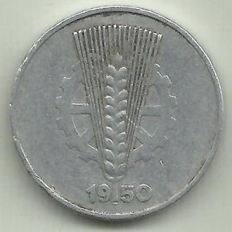 Германия ГДР 10 пфеннигов 1950A