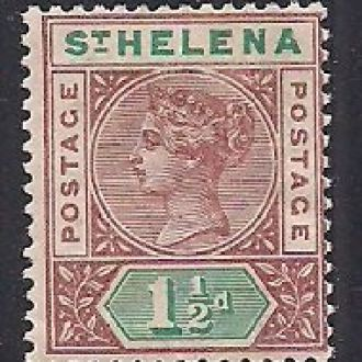 БРИТ. КОЛОНИИ ST.HELENA 1890 MH 7 ЕВРО