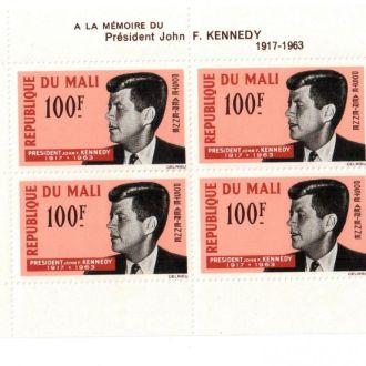 Мали 1964  Кеннеди Президент США MNH