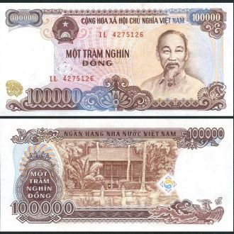 Vietnam / Вьетнам - 100000 Dong 1994 - aUNC - OLM