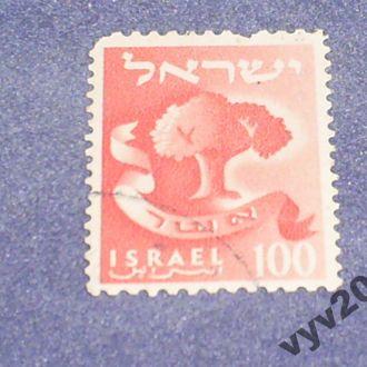 Израиль-1955 г.-Дерево