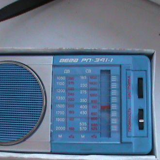 радиоприемник Вега РП 341-1 (СССР)