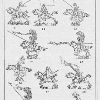 VID soldiers. Flats 002-Polish winged hussars
