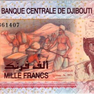 Джибути 1000 франков 2005 Pick 42 UNC