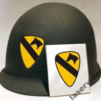 декаль деколь каска шлем воздушная кавелерия США