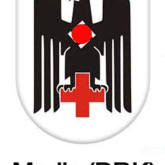 декаль деколь каска шлем Медик DRK,  3 рейх