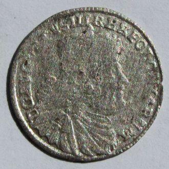 3 Гроша Август III Саксонец 1754 г, R1