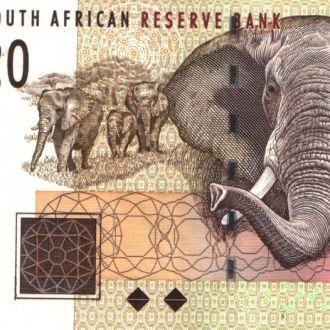 Южная Африка / ЮАР 20 RAND 2005 г UNC