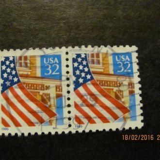 сша флаг 1995 гаш
